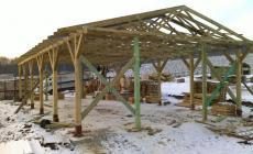 drevená hala Spišský Hrhov